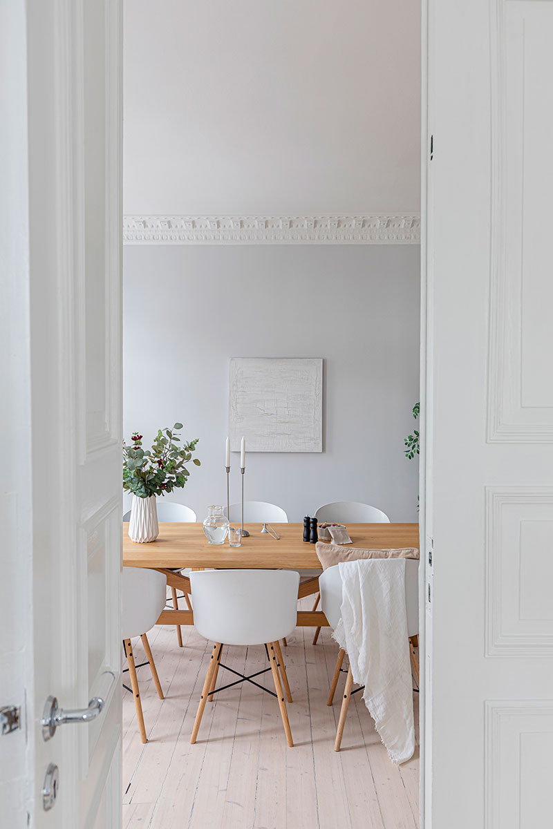 boligstyling interiørdesign spisestue