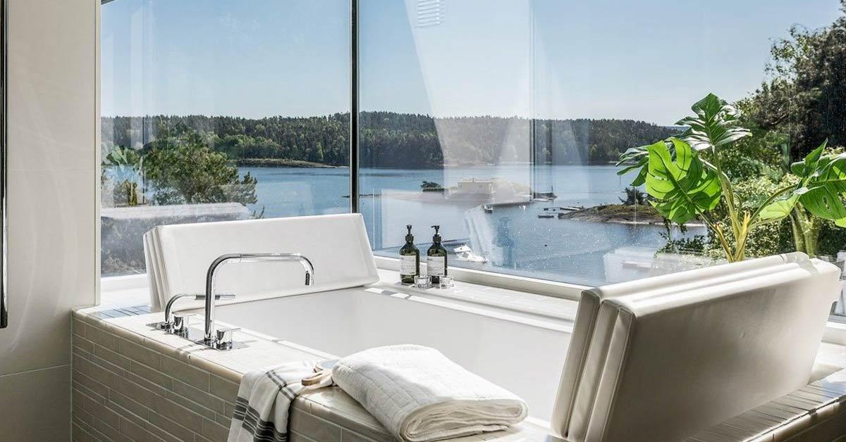 drømmebolig styling og interiør utsikt sjøem