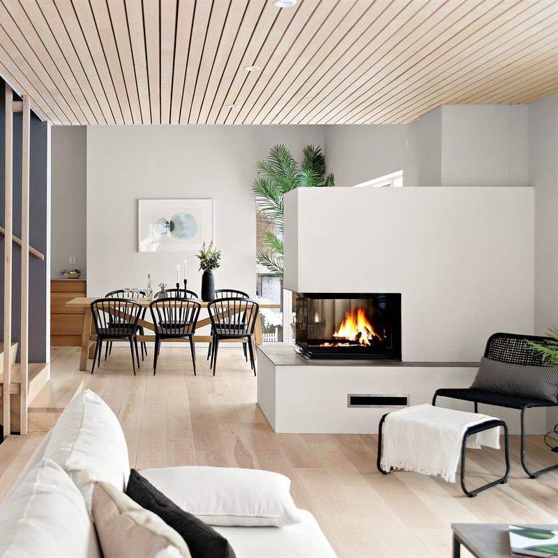 interiørdesiign bilde peis stila interiør